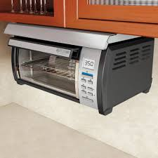 Best Under Cabinet Toaster Oven Black Decker Spacemaker Toaster Oven Black And Stainless