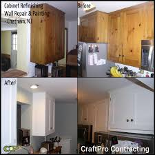 Repair Kitchen Cabinets Chatham Nj Cabinet Refinishing Painting Wallpaper Removal