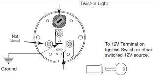 auto meter amp gauge wiring diagram wiring diagram schematics how to install an auto meter pro comp ultra lite voltmeter gauge