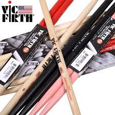 Us 9 99 Vic Firth Hickory Drumsticks 5a 5b 5b Barrel 7a Original Made In Usa Multiple Colors Drum Sticks In Parts Accessories From Sports