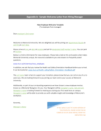 9 New Hire Welcome Letter Examples Pdf Examples