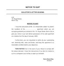 Terminate A Lease Letter Tenant Termination Notice To Quit Tenancy Template Terminate