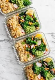 Weekly Lunch Prep Healthy Meal Prep Ideas Broccoli Quinoa Bowls