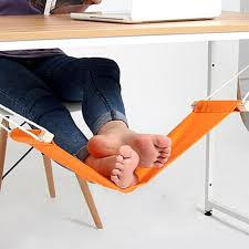 office orange. MIS_218 Kibeland Foot Hammock Mini Office Rest Stand Portable  Adjustable Feet Orange Office Orange