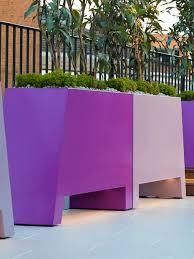 modern outdoor planters bespoke garden