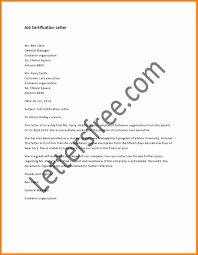 certification letter 8 certificate of employment letter weekly template