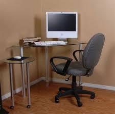 image corner computer. Small Corner Computer Desk Glass Image F