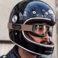 image 750 x 750 leather motorcycle helmets