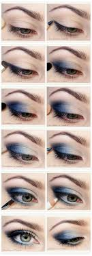 how to do blue smokey eyes diy makeup by makeup tutorials by makeuptutorials makeup tutorials graduation beauty ideas