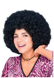 simple afro wig description do the hustle in this 70s