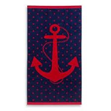 beach towel designs. Jacquard Anchor And Star Oversized Beach Towel - Bed Bath \u0026 Beyond. \ Designs