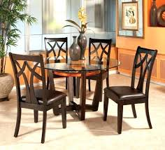 round glass and wood dining table round dining table with wood base org glass and wood dining table