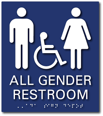 bathroom signs. Unique Bathroom California All Gender SingleOccupant Restroom Signs  AB 1732 And Title 24  Compliant Throughout Bathroom