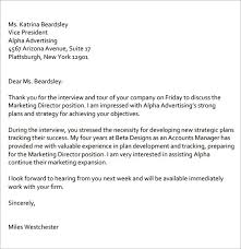 Strong Thank You Letter After Interview Letters Font