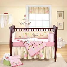 baby girl bedding crib sets purple set pink and brown design ideas regarding bed designs 10