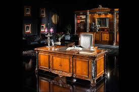 deluxe wooden home office. Elegant Home Furniture Or1083 Executive Desk Mf1018m Of 219x100x79 Decorated Leather Top Carved Wood Marketry And Deluxe Wooden Office