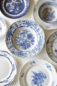 113 best Blue and white plate decor images on Pinterest | White ...