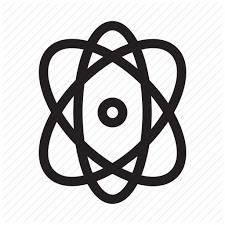 atomdesign atom design election electron element graphic tool icon