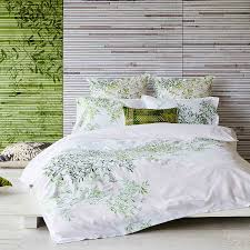 green duvet cover queen. Perfect Cover The LUXOTIC Pascale Green Quilt Cover Set Comes With 2 Standard Pillowcases  And Is Displayed And Duvet Cover Queen A