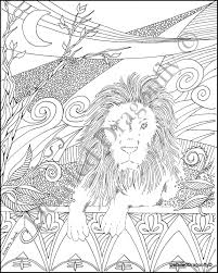 Lion Coloring Page Boys Coloring Page