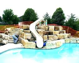 above ground pool slide water slides for pools ping from a great ideas above ground pool slide
