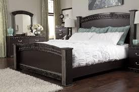 bedroom bedroom set with marble top new traditional king poster
