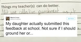 11-Year-Old Girl's Response To Teacher's Punishment Is Going Viral | Bored  Panda