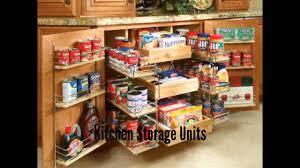 Kitchen Storage Kitchen Storage Units Youtube