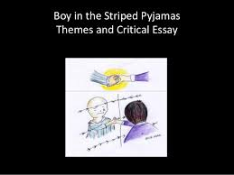 boy in the striped pyjamas essay paragraph video book