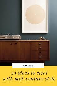 25 ideas to steal with mid century style | Seasons in Colour ...