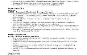 Job Resume With No Experience Aerospace Medical Service Apprentice