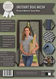 magnetic screen door instant bug mesh installation instructions magic mesh review you