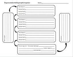 best argument graphic organizers images argumentative writing graphic organizer