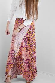 Wrap Skirt Pattern Impressive DIY Maxi Skirt Tutorial FullCoverage Wrap Skirt Seams And Scissors