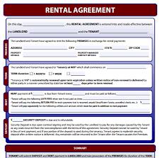 Free Rental Form Simple Rental Agreement Form Free Download Rent Agreement Form Free