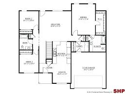3 bedroom house plans without garage elegant homes floor with single story 3d 3 bedroom house plans without garage elegant homes floor with single story 3d