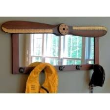 Propeller Coat Rack Wood Propeller Coat Rack Mirror A Simpler Time 1