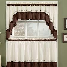 Plaid Kitchen Curtains Valances Kitchen Contemporary Kitchen Curtains And Valances With Cream