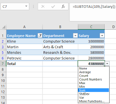 Video Add A Total Row To A Table Excel