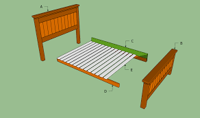 Width Of Queen Bed How To Build A Queen Size Bed Frame Howtospecialist How To