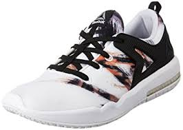 reebok hexalite. reebok women\u0027s hexalite x glide gr black, white and coal running shoes - 4 uk