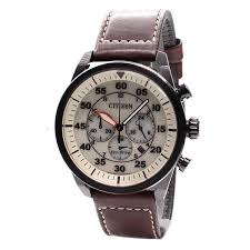 citizen eco drive chronograph leather ca4215 04w ca4215 04 watch