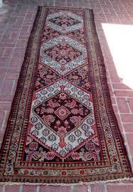 details about a decorative 10 feet long antique runner rug