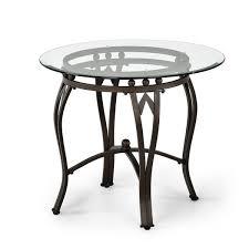 undefined madrid glasetal end table