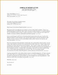 Letter Intent Job Position Elegant Cover Teacher Lovely Teaching