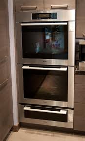 Double Oven Kitchen Design Miele Microwave Oven And Warming Drawer The Cooking Space