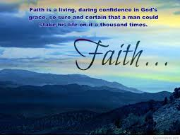 Wallpaper With Faith Quote