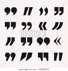 Quote Symbol New Quotes Icon Vector Vector Photo Free Trial Bigstock