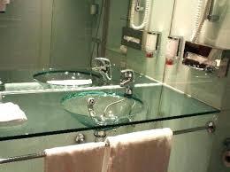 glass bathroom sinks slight small home improvement s beautifully simple coloured uk glass bathroom sinks
