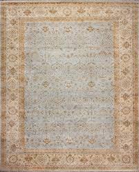 rugsville ziegler traditional grey wool rug 10427